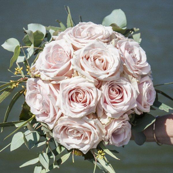 Brautstrauß altrosa Bild 1