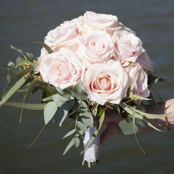 Brautstrauß altrosa Bild 2