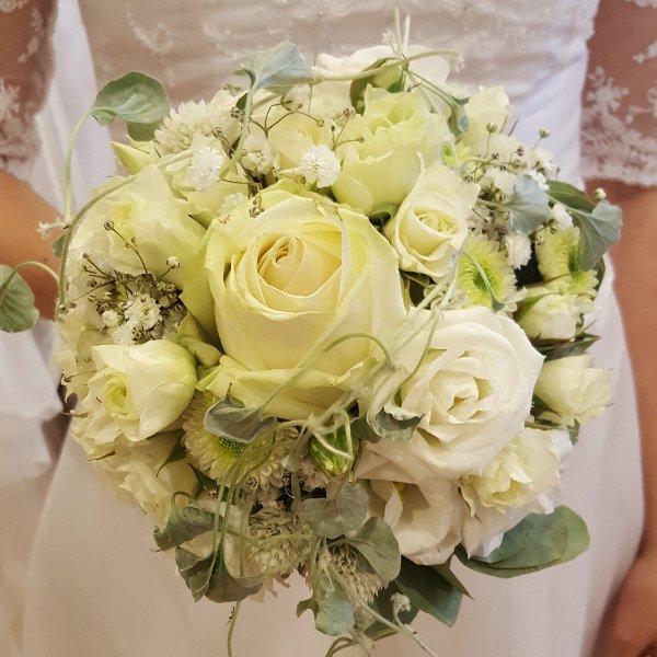 Brautstrauß elegant Bild 1