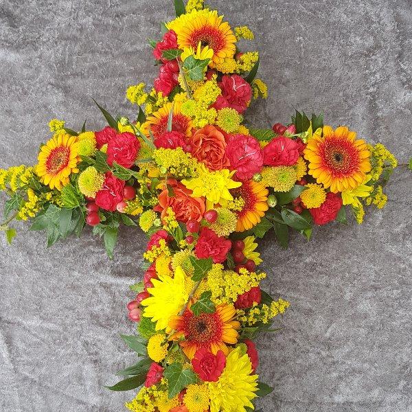Kreuz rot-gelb Bild 1